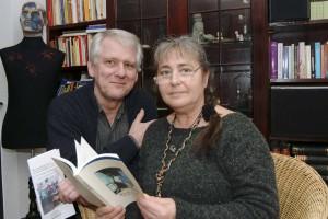 Barbara Ming und Ulrich Scharfenorth vom Literaturkreis ERA.